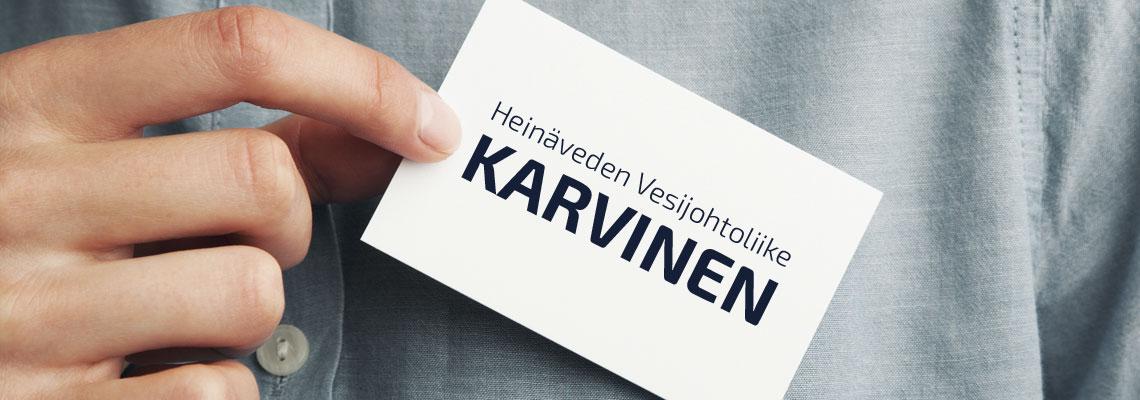 Heinäveden Vesijohtoliike Karvinen Oy